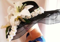 Kentucky Derby Hats for Women Havana, Derby Outfits, Fancy Hats, Big Hats, Derby Day, Derby Time, Crazy Hats, Stylish Hats, Kentucky Derby Hats