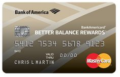 Bank of America credit cards to meet your needs