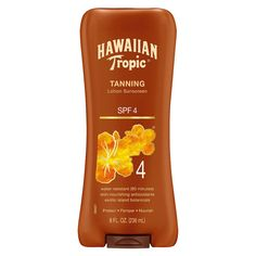 tanning the sun has a dark Taking the tanning party outdoors creates a different beast altogether, and the lotion needs to be your best friend if you're braving the sun face on so, for our top pick with spf, low as it may be, the hawaiian tropic sunscreen protective dark tanning lotion is a great option.