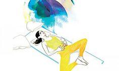 Moonlight-Yoga Fünf Relax-Asanas für den Abend