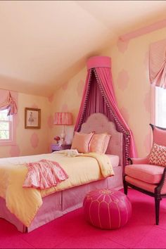 I like the yellow and light pink with maybe just punches of the bold pink