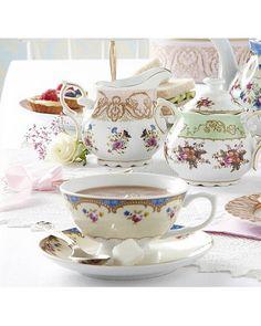 Regency Tea Cup and Saucer