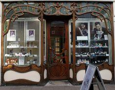 Art Nouveau Shopfront: Market Street ~ Cambridge by curry15, via Flickr
