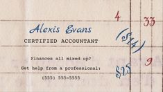 Retro Accounting Paper Mixed up Mathematics Business Cards Direct Link: https://www.zazzle.com/z/o48d4?rf=238835258815790439&tc=GBCAccounting1Pin