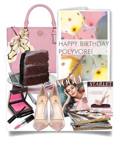 """""""Happy Birthday, Polyvore!"""" by sofirose ❤ liked on Polyvore featuring art, contestentry and happybirthdaypolyvore"""