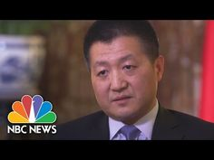 (47) China Speaks About President Donald Trump, South China Sea, Trade (Full Interview) | NBC News - YouTube