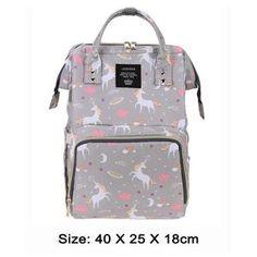 Backpack Designer Nursing Bags for Baby Care Large Capacity 36 Styles - StrawberryDaze Baby Girl Diaper Bags, Fashionable Diaper Bags, Nurse Bag, Cocktail Wear, Wet Bag, Bottle Bag, Designer Backpacks, Waterproof Fabric, Travel Backpack