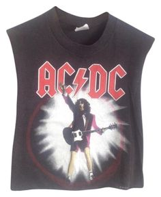 1247c2b80354 Rare Acdc 1988 World Tour T Shirt Black. Free shipping and guaranteed  authenticity on Rare. Tradesy