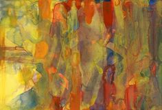 Gerhard Richter  Untitled (11.4.88)  Ohne Titel (11.4.88)  1988  16.5 cm x 23.8 cm  Watercolour on paper