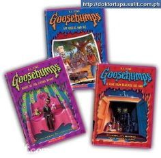Goosebumps// read all of them! I really liked the ones with the holographic covers and the alternate endings/ choose your fate, w/e. Night of the Living Dummy 1,2&3 had me scared to go to sleep. Lol I would love to buy the collection for Bryce.
