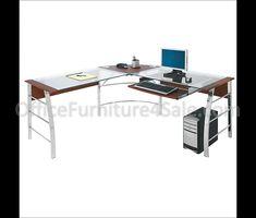 Glas Und Chrom Schreibtisch Möbel Für Home Office Einer Der Größten  Alternativen Für Glas Und
