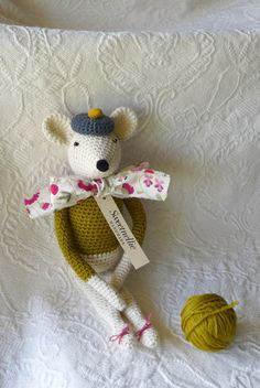 Wescott the Mouse by Sweetnellie on Etsy