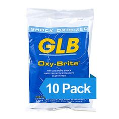 Pool Chemicals and Clarifiers 181058: Glb Oxy-Brite Non-Chlorine Swimming Pool Spa Hot Tub Shock Oxidizer - 10 Lbs. -> BUY IT NOW ONLY: $69.99 on eBay!