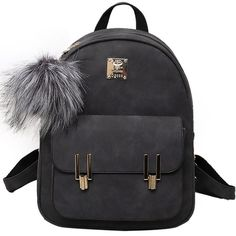 How nice Leisure Frosted PU Zippered Bag With Metal Lock Match School Backpack ! I like it ! I want to get it ASAP!
