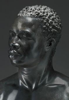 People of Color in European Art History — Studio of Francis Harwood (in Italy) Portrait. - People of Color in European Art History — Studio of Francis Harwood (in Italy) Portrait… - Goldscheider, African American Art, African Art, European History, Art History, Statues, Art Sculpture, Bronze Sculpture, African Sculptures