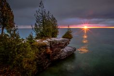 Door County Sunrise by Spencer Hughes on 500px