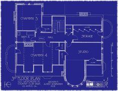 1120 Westchester Pl - 3rd Floor Plan | Flickr - Photo Sharing!