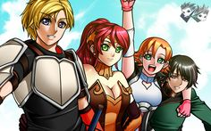 Artwork: Team JNPR Wallpaper by jadenkaiba.deviantart.com on @deviantART