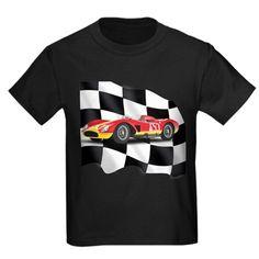 Action Car Kids Crew-Neck T-Shirt