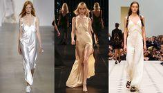 Tendance mode printemps-été 2016 slip dresses
