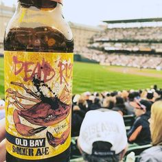Dead Rise is back and will make its 2016 debut on Opening Day at @orioles Park at Camden Yards. #Orioles #opacy #CamdenYards #Letsgobirds #DeadRise #OldBay #openingday #baseball http://bit.ly/OsHomeOpener by flyingdogbrewery
