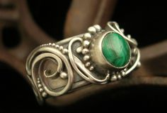 Ring | Brittany Foster. Silver, malecite