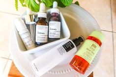 These are the skincare actives I am using in my routine to get my skin its peak position: free from hyperpigmentation, even skintone and glowing, honey! Cosrx, Oily Skin, The Ordinary, Pixie, Routine, Skincare, Personal Care, Products, Self Care