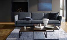 Boconcept Sofa, Osaka, Danish Furniture, Contemporary Furniture, Furniture Design, Masculine Living Rooms, Interior Styling, Interior Design, Living Room Designs