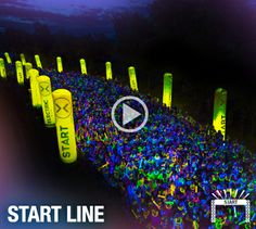 Courselands | Electric Run.  This will be my first 5K, looks so much fun, can't wait.
