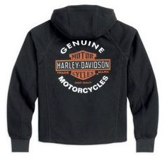 Harley Davidson® Men's Roadway waterproof fleece jacket.