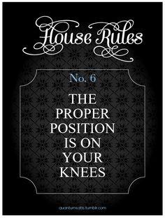 proper position is on your knees...always, always always....~angel-eyez~