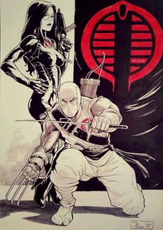 Baroness & Storm Shadow