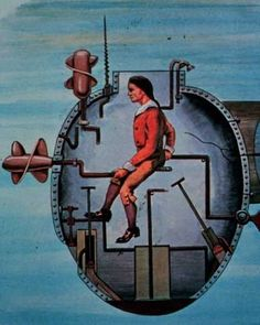 The Turtle, also known as the American Turtle, was the world's first submersible with a documented record of use in combat. It was built in Old Saybrook, Connecticut in 1775 by American Patriot David Bushnell as a means of attaching explosive charges to ships in a harbor.
