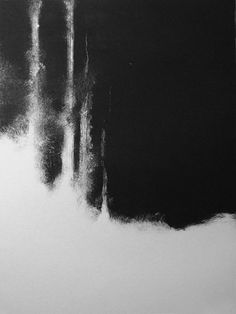 black white painting charcoal