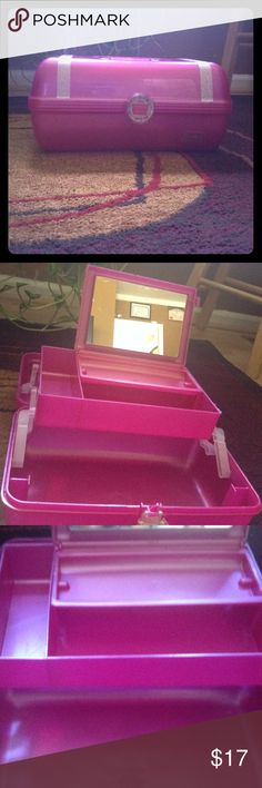 Pink Caboodles Makeup Kit Was givin to me as a gift. I have no use for it. Takes up space.  but oh so cute PINK Victoria's Secret Makeup