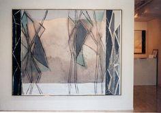 Ronnie Landfield, Installation. NY, 1987.