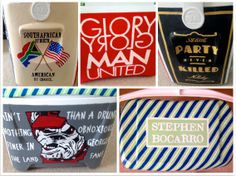 Hand Painted Cooler 28 quarts by thegirlsinpearls on Etsy