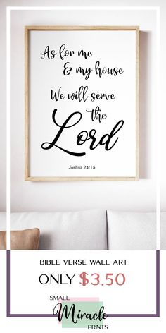 Boost your faith through this inspiring and uplifting Christian Wall Decor. Available @ SmallMiraclePrints for only $3.50 with it's opening sale for a limited time!    Visit our shop and you would be able to view even more affordable inspirational Scripture printables! #BibleVerseWallArt #ChristianWallDecor