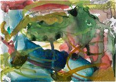 Gerhard Richter, watercolour on paper