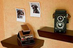 ThinkGeek :: Retro Instant Photo Frames