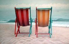 Jim Leff, Two Beach Chairs