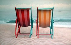 Jim Leff, Two Beach Chairs