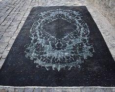 Turkish rug Oushak rug Vintage rug Turkey rug by turkishrugstar