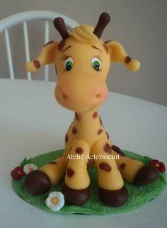 girafa em biscuit - Pesquisa Google