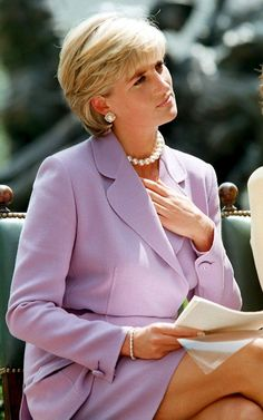 "Princess Diana - ""Queen of Hearts"": Photo gallery. Such a sweet picture of her. She sure left her mark on her two sons"