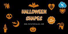 64 formas personalizadas de Halloween | PS Tutoriales