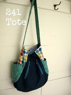 """So Chick"" Market Tote Bag – PDF Sewing Pattern"