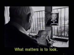 "a documentary on Henri Cartier-Bresson ""Le'amour tout court"" part I, to view the rest, link: http://www.henricartier-bresson.com/JustPlainLove.html"
