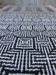 twill shadow weave, closeup