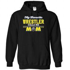 My favorite Wrestler calls me mom T Shirts, Hoodies. Get it now ==► https://www.sunfrog.com/LifeStyle/My-favorite-Wrestler-calls-me-mom--1215-1587-Black-Hoodie.html?57074 $39.99